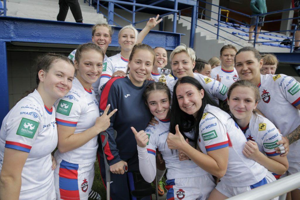 ЦСКА-2 первый тур Федеральной лиги по регби-7